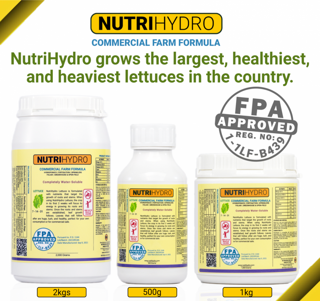 FPA Approved NutriHydro CFF Lettuce
